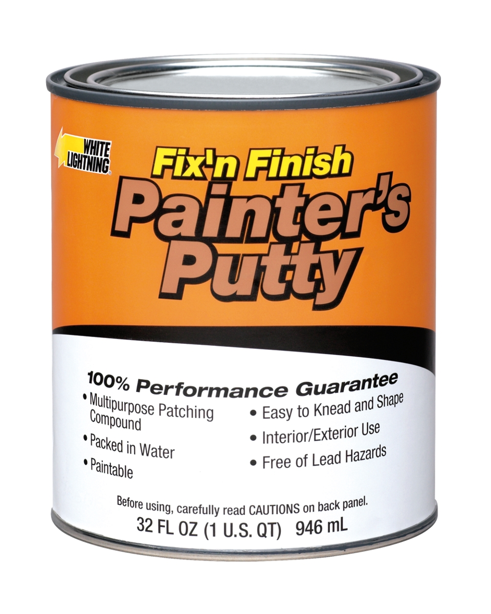 painter 39 s putty white lightning