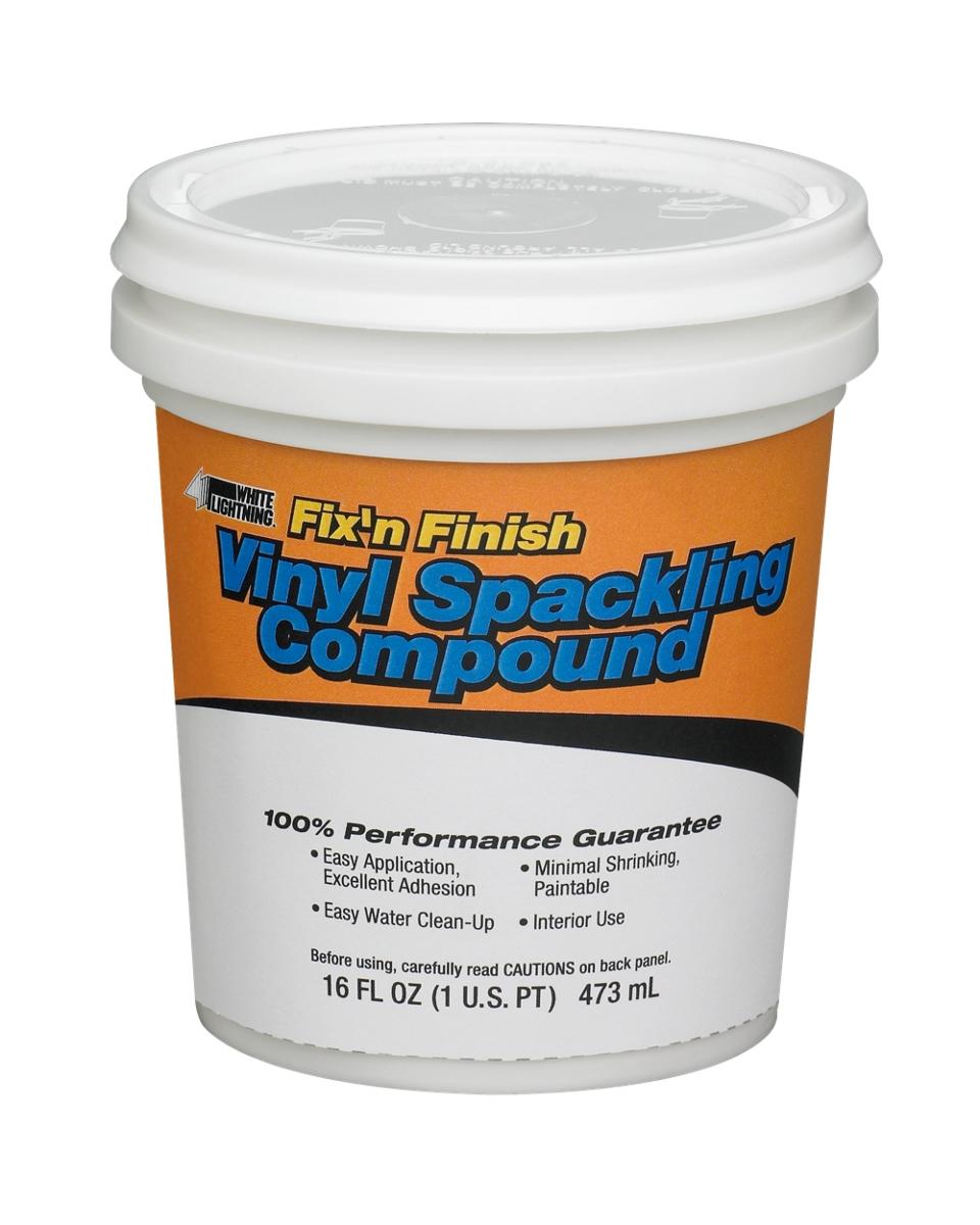 Vinyl Spackling Compound White Lightning
