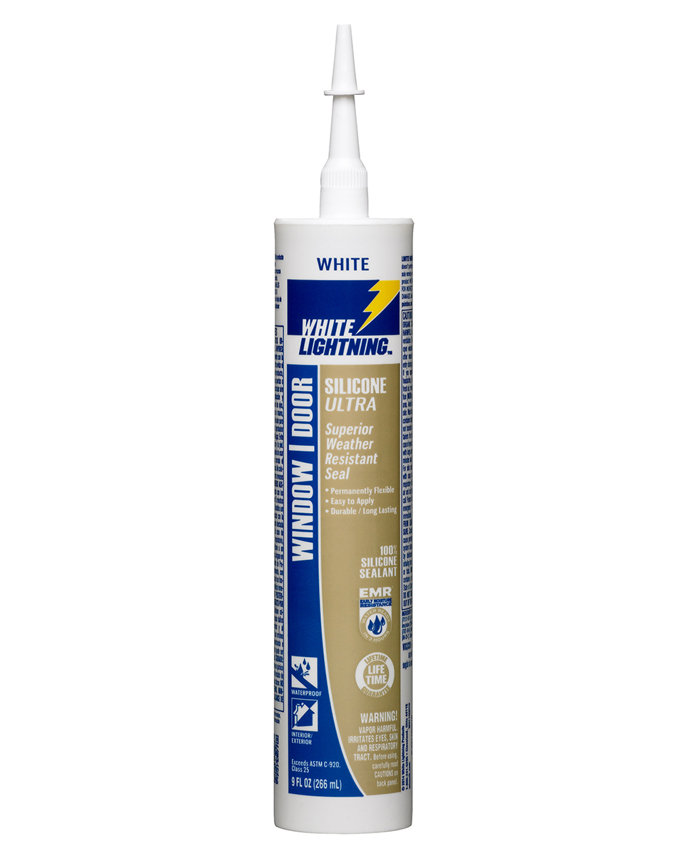 Window \u0026 Door Sealant  sc 1 st  White Lightning & Silicone Ultra - Window and Door - White Lightning