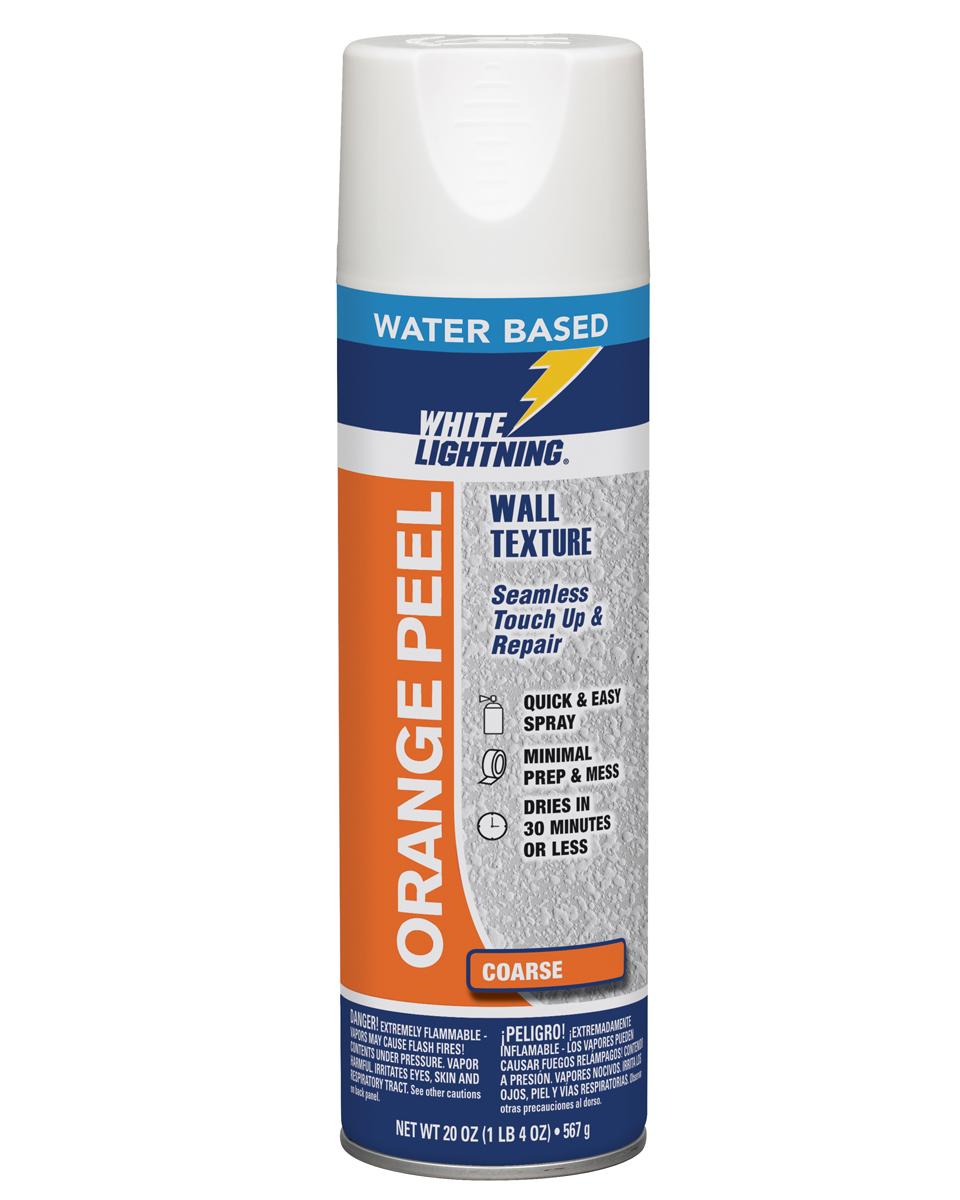 Orange Peel Water Based Wall Texture White Lightning